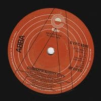 ABBA Summer Night City Vinyl Record 7 Inch Epic 1978 Promo